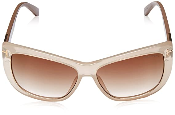 Tom Ford Sonnenbrille FT0434_57G (58 mm) Beige, 58