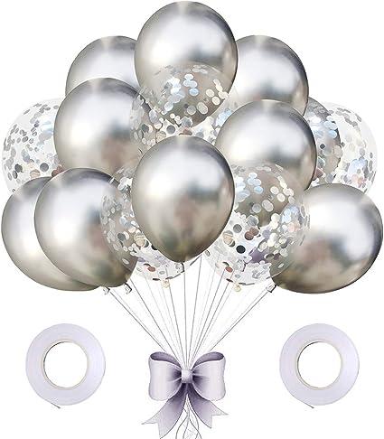Amazon.com: Amawill - Globo de confeti de lentejuelas con ...