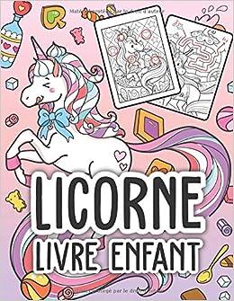 Coloriage Licorne Jeux.Licorne Livre Enfant Livre Enfant Licorne D Enigmes