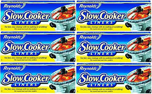(Reynolds Slow Cooker Liners, 4-Count (Pack of 6))