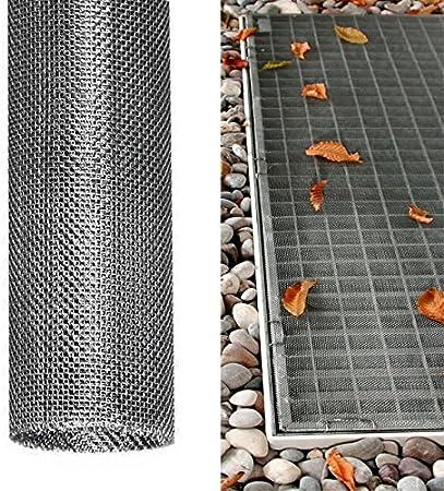 DILUMA Set x3 Grille protectrice pour Lucarne 60 x 120 cm en Acier Inoxydable Grille protectrice pour fenêtre de Cave raccourcissable