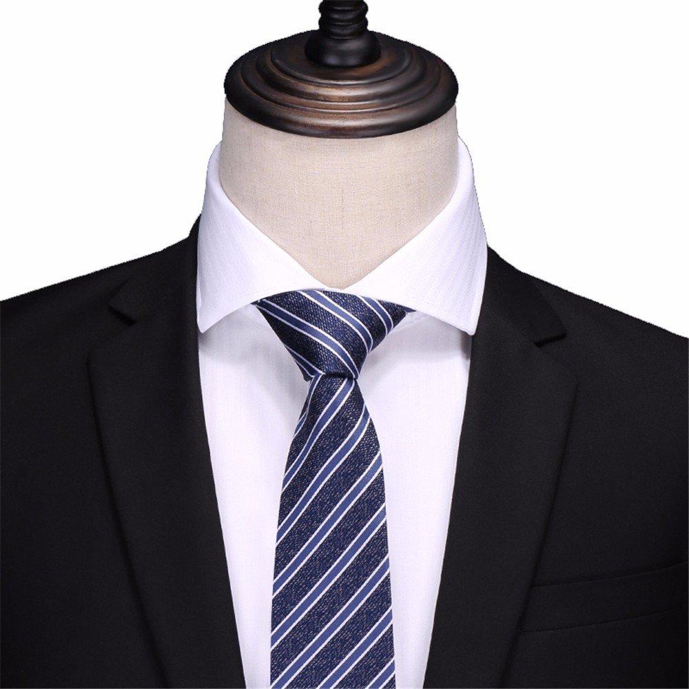 HXCMAN - Corbata - para hombre Azul azul Talla única: Amazon.es ...
