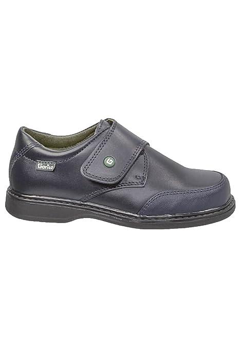 zapattu Zapatos Gorila - Colegial Unisex - Azul Marino, 32