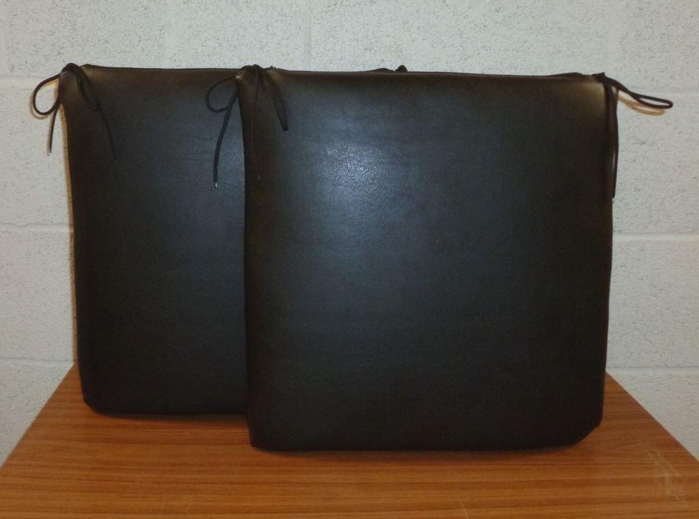Faux Leather Chair Cushions Faux Leather Chair Cushion