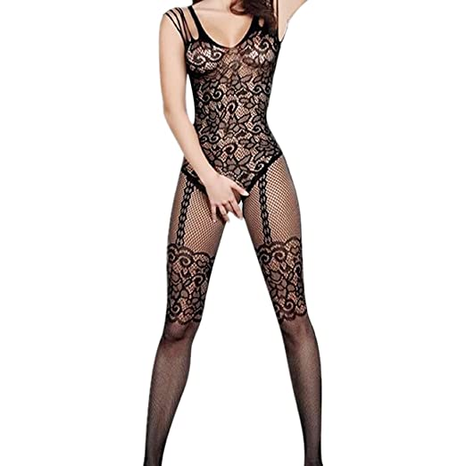 36298e05c84 Image Unavailable. Image not available for. Color  Polytree Women Open  Crotch Floral Mesh ...