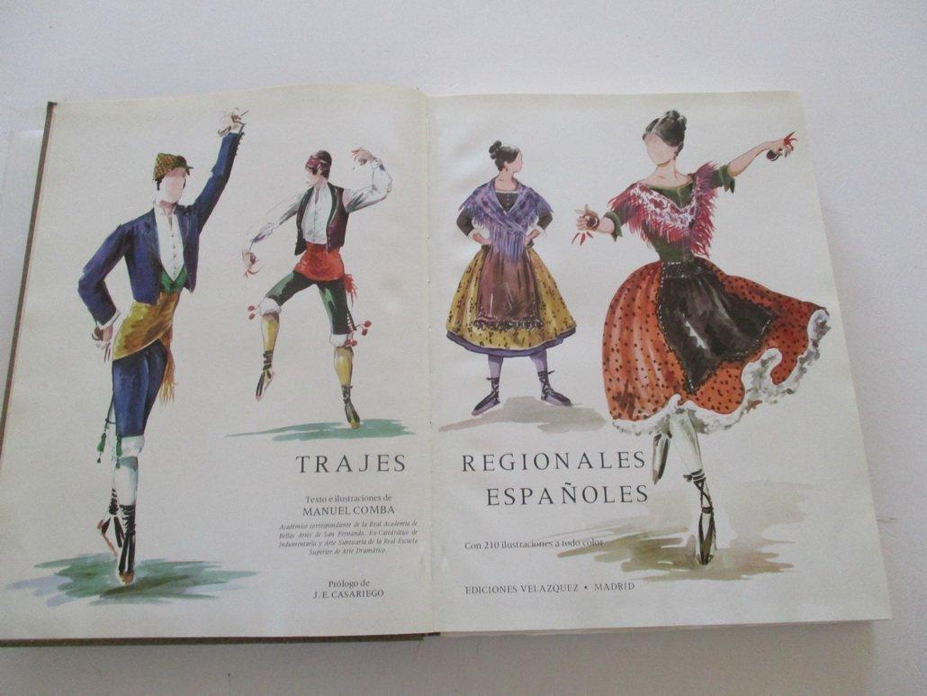 Trajes Regionales Españoles: Amazon.es: Manuel Comba: Libros