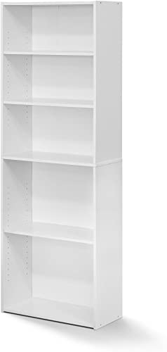 FURINNO Wright 5-Shelf Bookcase