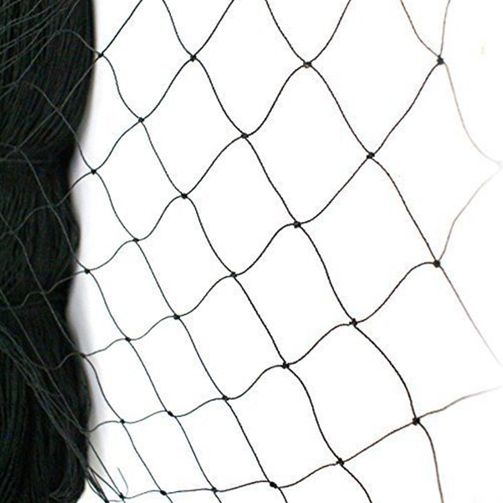 25' X 50' Net Netting for Bird Poultry Aviary Game Pens New 2.4'' Square Mesh Size (25×50)