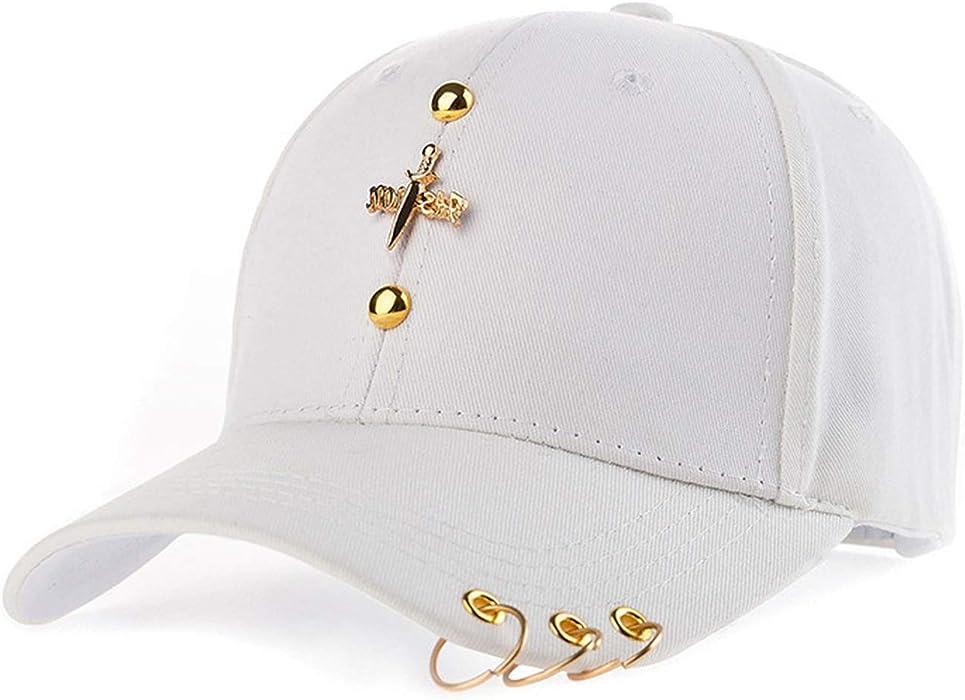 Amazon.com: Womens Baseball with Ring Cap Hood Sun Hat Gorras Summer Hat Women Snapback Casquette, 1: Clothing