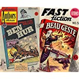 Ben Hur by General Lew Wallace and Beau Gest by by P C Wren. Plus the Word of the Law, The cheating of Hadschi and Escape from a War Prison. Golden Age Famous Stories by Famous Authors Illustrated.