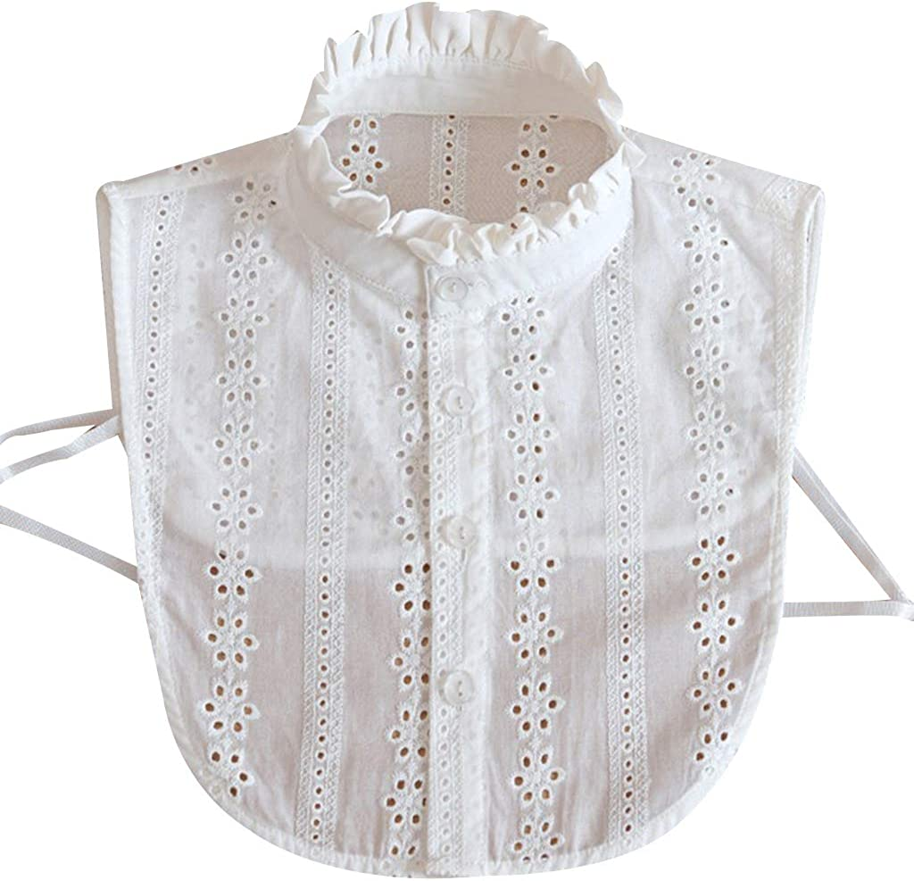 Yanhonin - Cuello falso para mujer, cuello desmontable de camisa, accesorio de ropa: Amazon.es: Ropa y accesorios