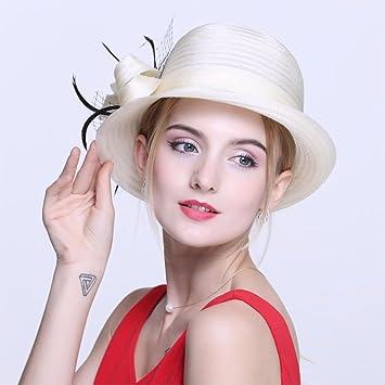 YISANLING mujer sombrero de moda de verano nombre Yuan tapón tapa del domo  sombrero gorra 34d9179fb3fc