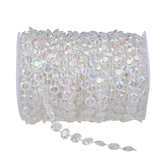 Amazon.com: Ambox - Cuentas de cristal acrílico transparente ...
