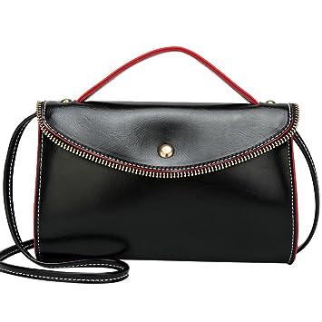 Amazon.com: SHL mujeres moda bolso de mano Sobre Bolsa de ...