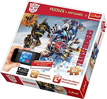 Trefl Slam A1502014 Puzzle Classical Transformers Hard 80