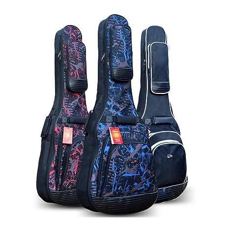 KMDSM Estuche de guitarra, For41,42 pulgadas acústica y guitarra ...