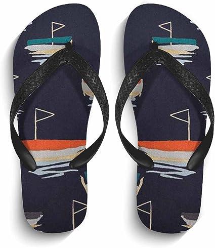 Chad Hope Mens Casual Stylish Sandals Comfortable Anti-Slip Flip Flops