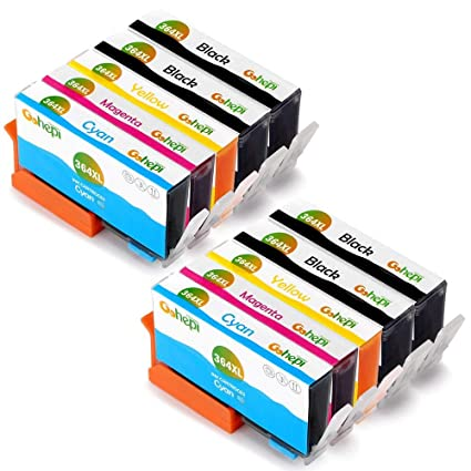 Gohepi 364XL Alta Capacidad Cartuchos de tinta Reemplazo para HP ...