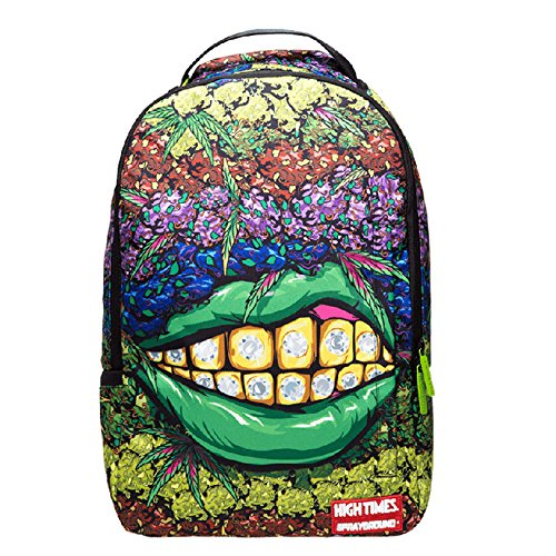 ffe9b51a92 Sprayground x High Times Ganja Grillz Collab Backpack | Projectwear