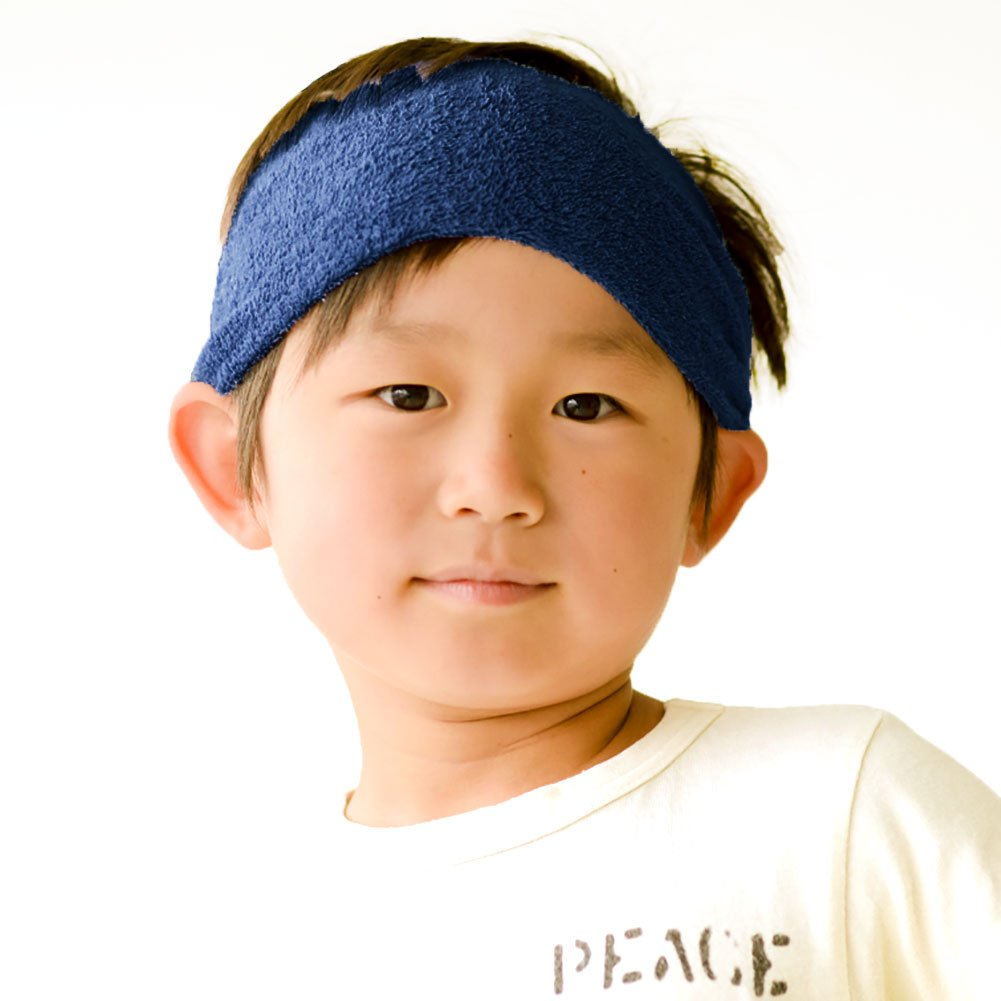 Casualbox Boys Head Cover Band Made In Japan Cotton Girls Sweat Sport sports-headbands