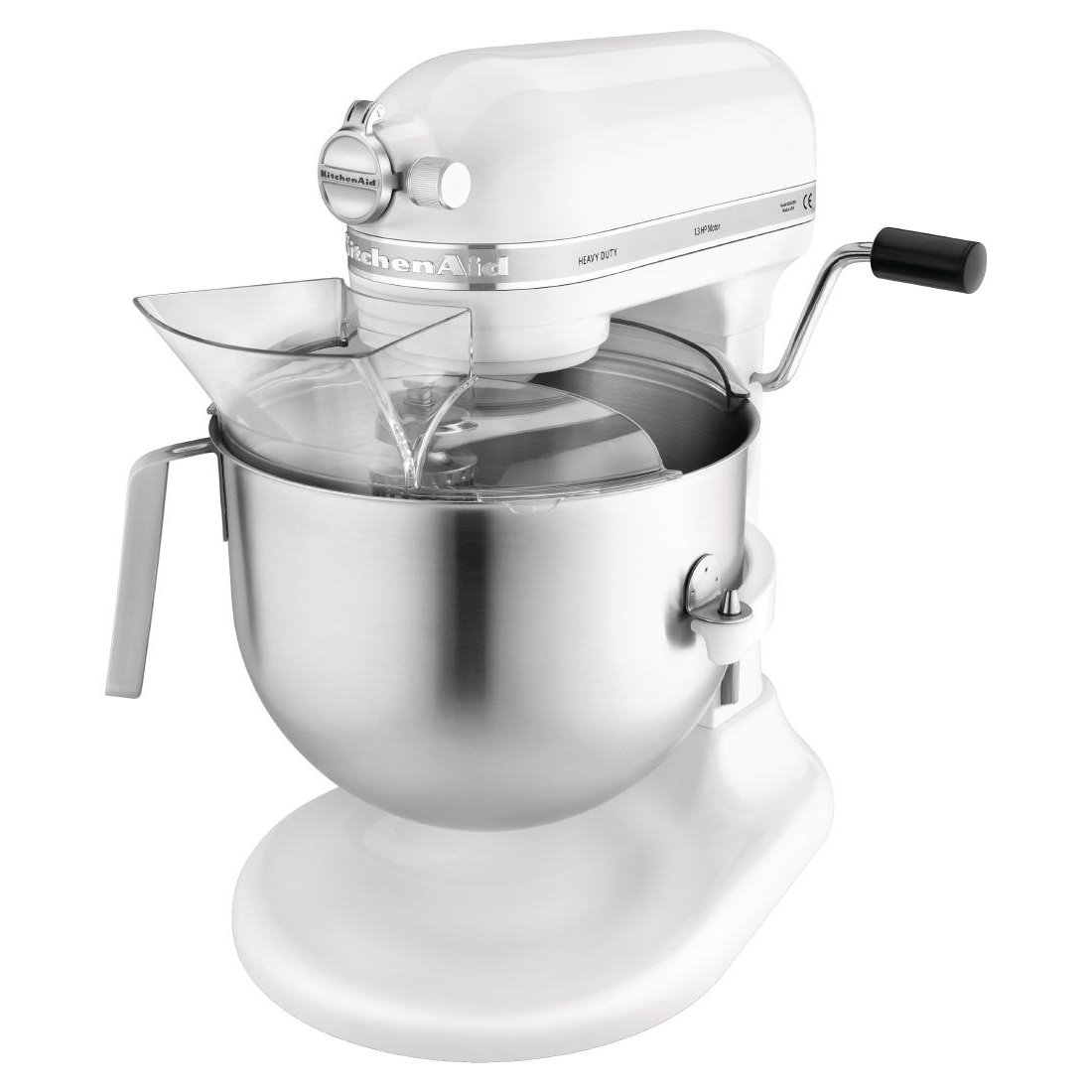 Kitchenaid - Mezclador resistente, 417(H) x 287(W) x 371(D) mm, blanco, 1