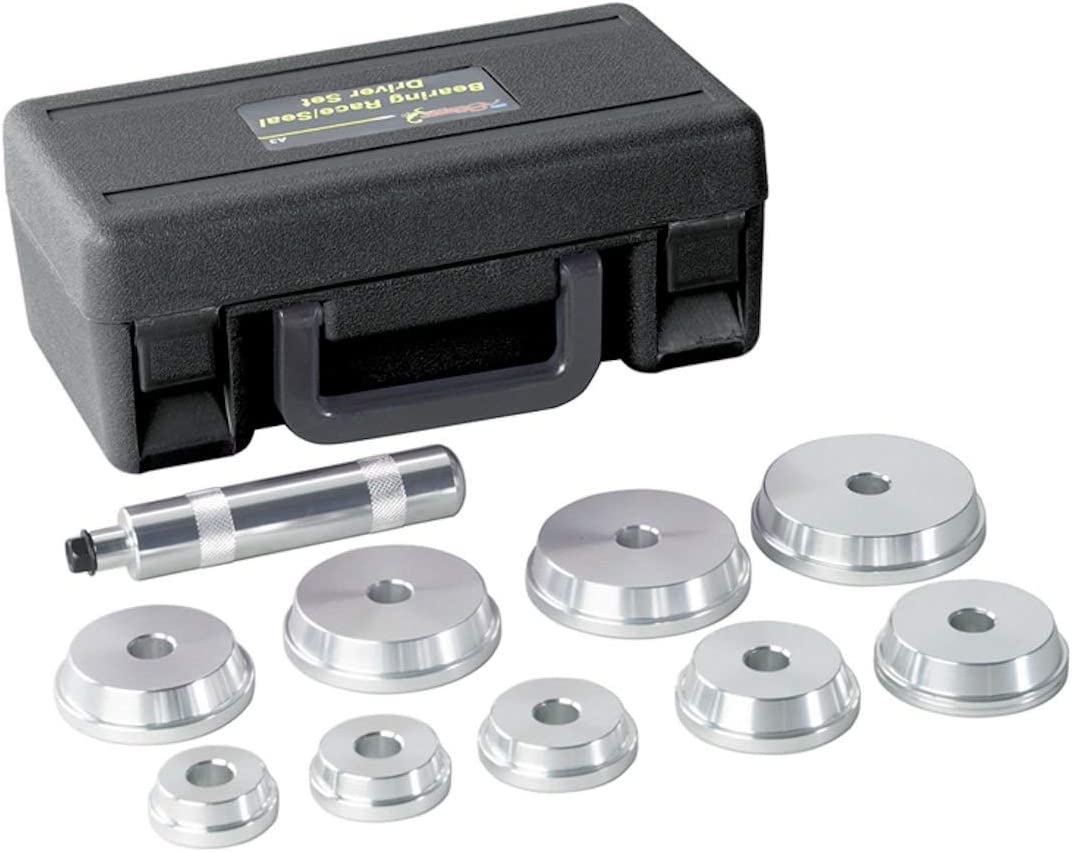 Silverline Tools 486869 Silverline Bearing Race /& Seal Driver Kit 10pce 40-81 mm