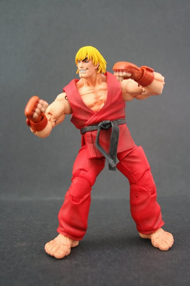 Amazon Com Neca Street Fighter Ken Toys Games