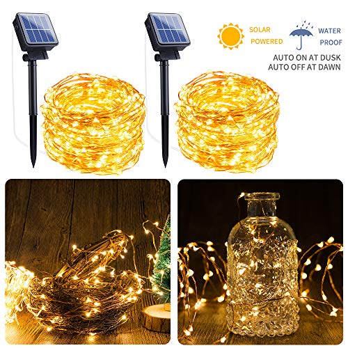 100 Led Solar Fairy Lights in US - 1