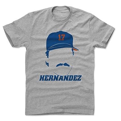 e6d731e8 500 LEVEL Keith Hernandez Cotton Shirt (Small, Heather Gray) - New York Mets