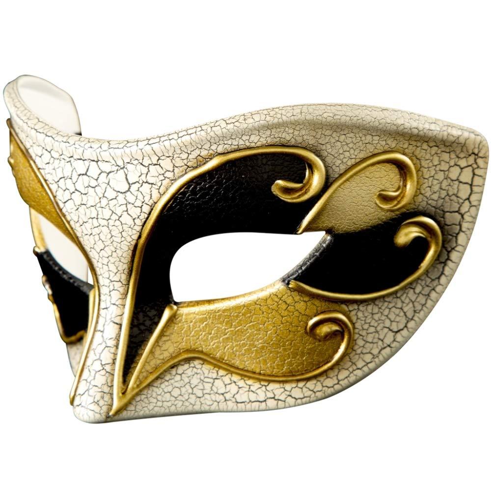 KAIDILA Maske Halloween Maske Kreative Party Maske KAIDILA Halloween Crack Kunststoffmaske Half Face New Kostüm Ball bad39b