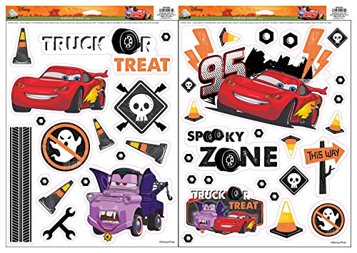 Disney Pixar Cars Window Clings Set (Set Decal Pixar)