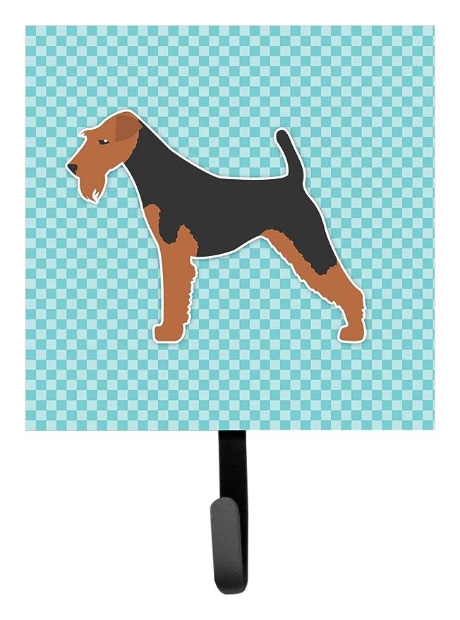 Airedale Terrier Metal Key or Leash Hanger *NEW*
