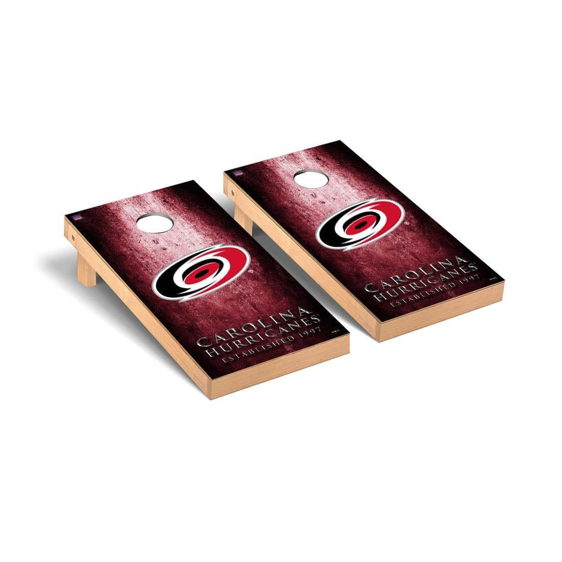 Victory Tailgate Carolina Hurricanes NHL Regulation Cornhole Game Set Museum Version