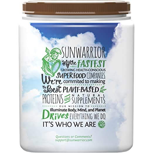 Sunwarrior Warrior Blend Schokolade, 1er Pack (1 x 500 g): Amazon.de ...