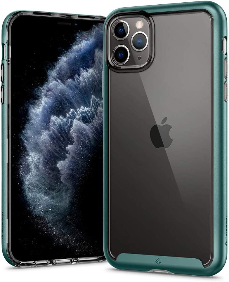 Caseology Skyfall for Apple iPhone 11 Pro Case (2019) - Midnight Green