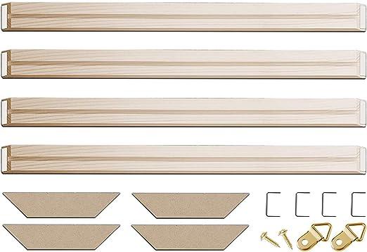 8x12 Inch Stretcher Bars,Wood Canvas Frame Kit,DIY Canvas framm for Oil Painting,Art Stretcher Bars 20x30cm