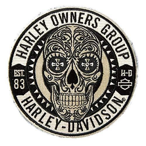 (MSPowerstrange Sugar Skull Patch ~ Harley Davidson Owners Group HOG H.O.G. )
