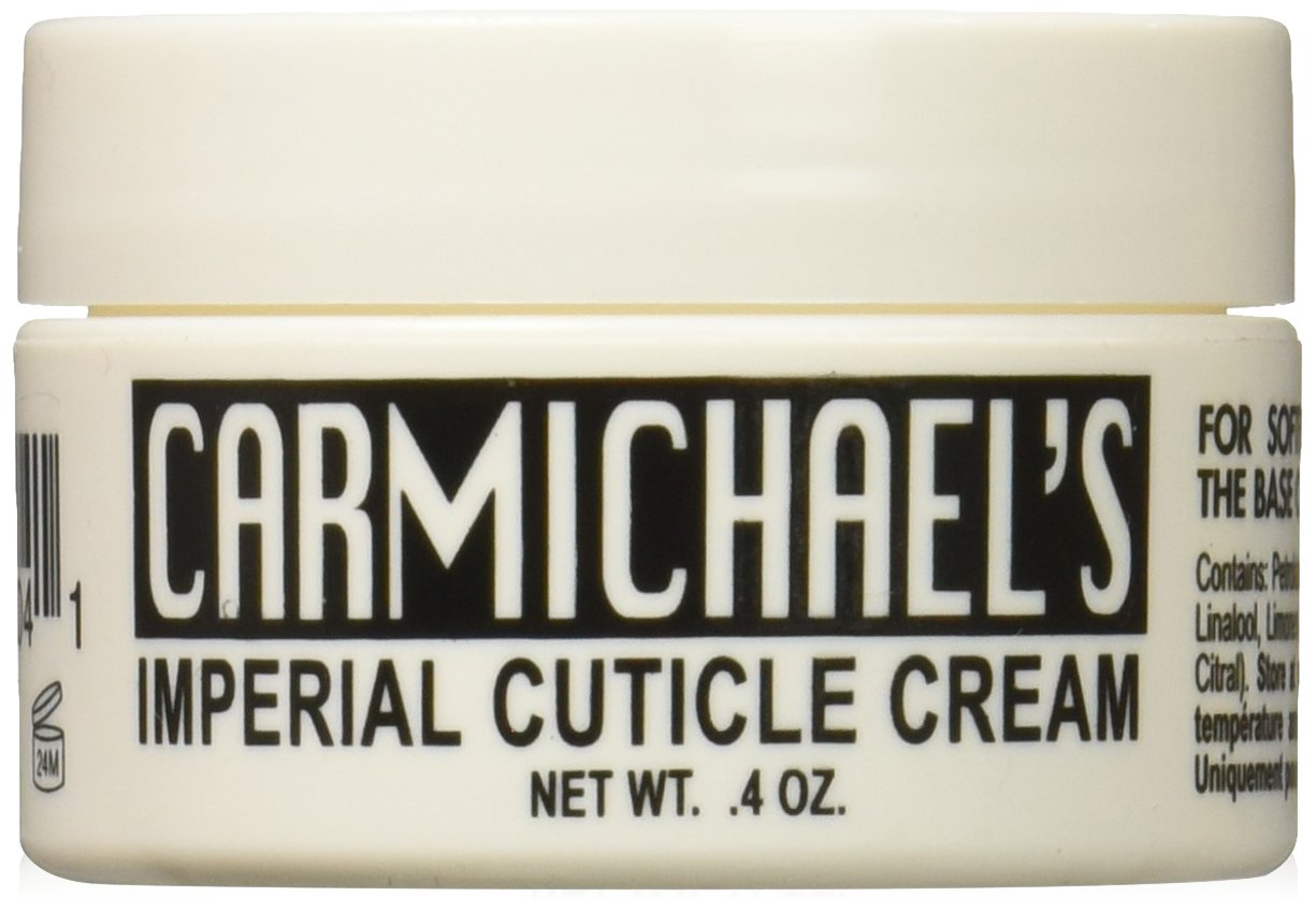 Carmichael's Imperial Cuticle Cream – Fingernail and Toe Nail Strengthener and Moisturizer Treatment - 0.4 Ounces CASWELL-MASSEY 22-31404