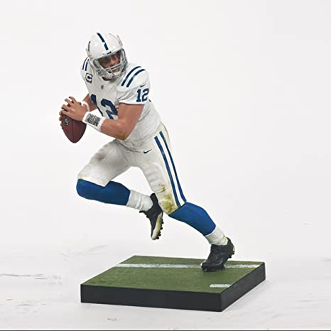 5ef66fc35cc Amazon.com  McFarlane Toys NFL Series 33 Andrew Luck Figure  Toys   Games