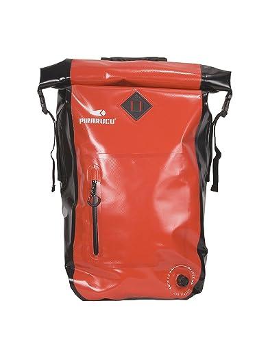 (ピラルク)PIRARUCUGP-001バックパックレッド防水バッグ