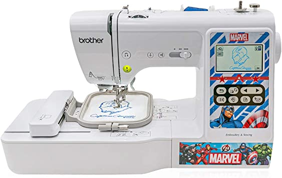 Brother Lb5000m Marvel Computerized Sewing And Embroidery Machine White