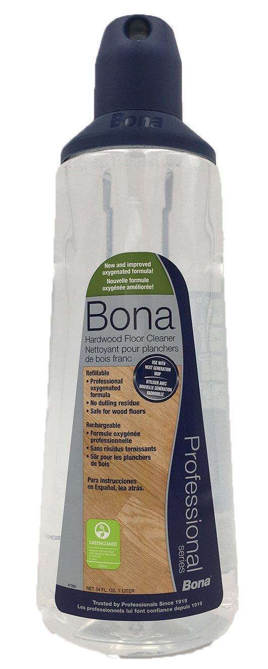Bona Pro 33 Oz Hardwood Floor Cleaner Refill Cartridge, Premium No-Residue Formula, Ready-to-Use Cartridge For Bona Hardwood Floor Spray Mop, Cleans Dirty, Smudged Wood Floors (Pack of 3) by Bona (Image #5)
