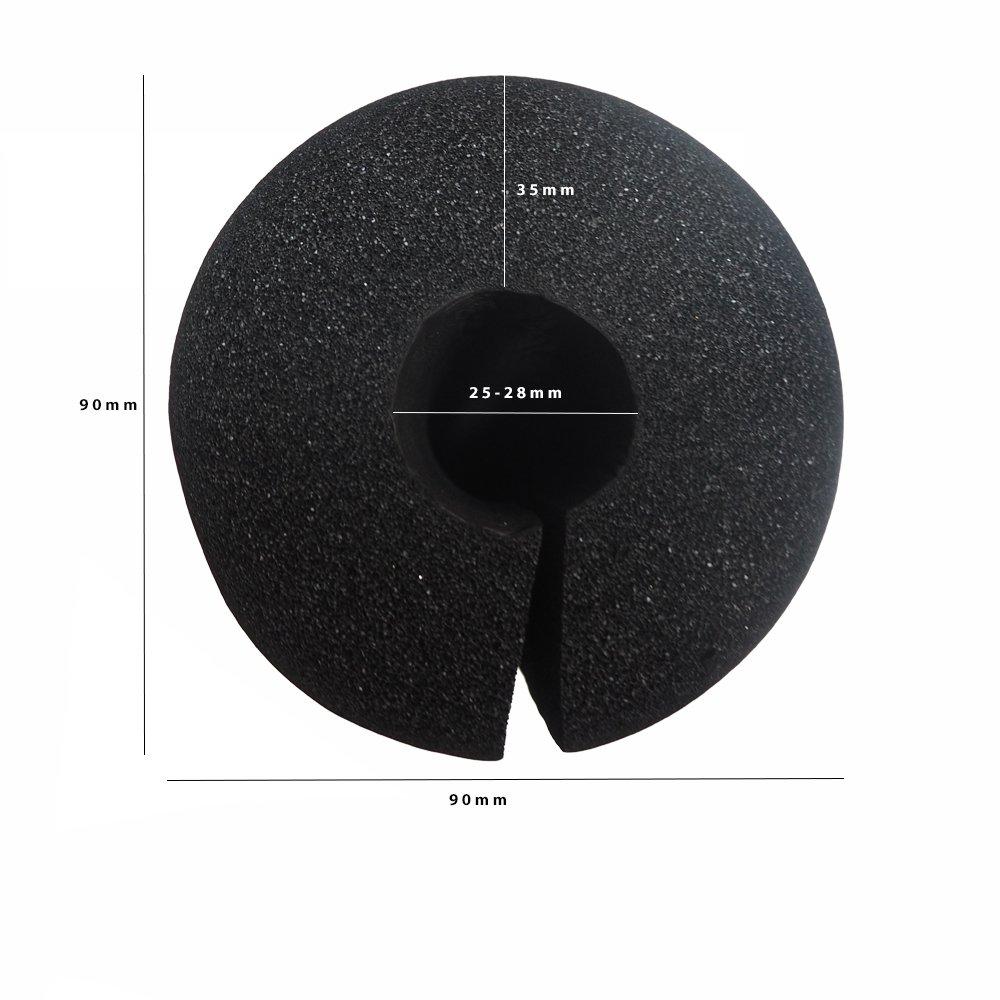 PROTONE/® Pesas Pad//SENTADILLA Pad Espuma Soporte Funda para Olympic Pesas hasta 28mm di/ámetro Azul