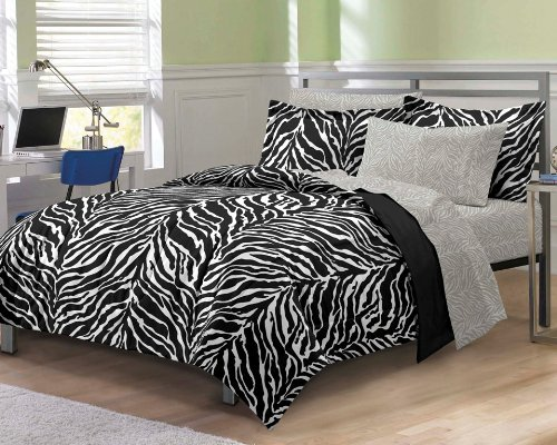 zebra full bedding - 3