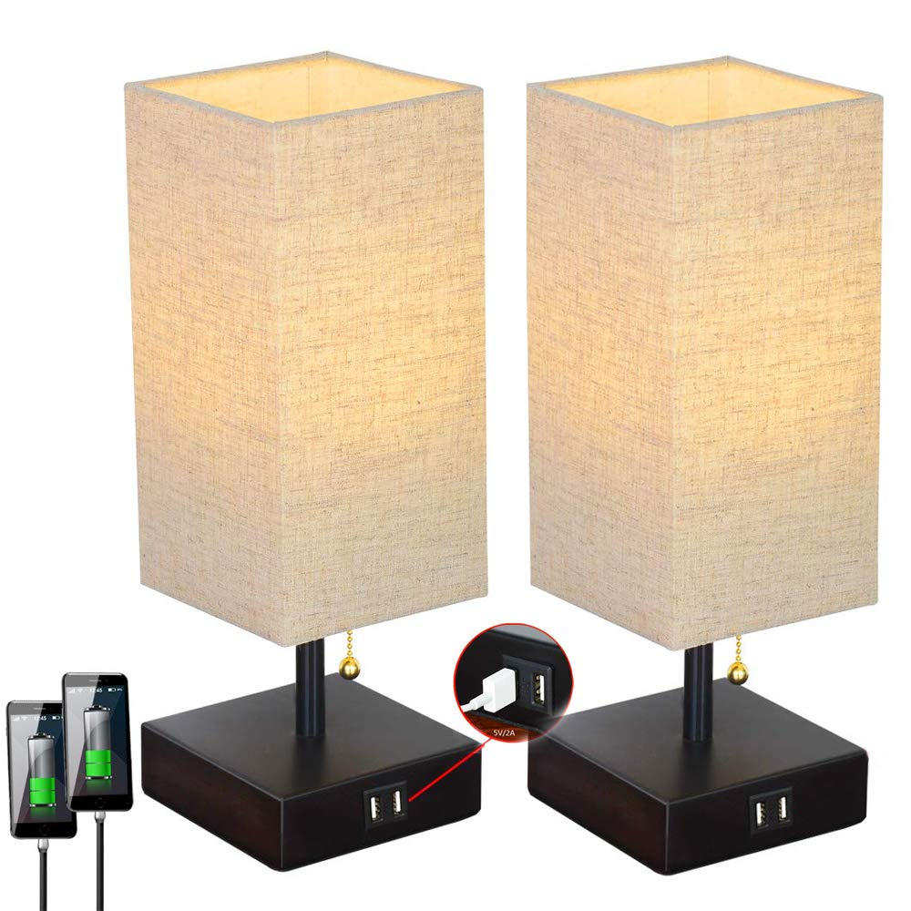 These are perfect for my living room I can charge my devices and have lighting all from one place