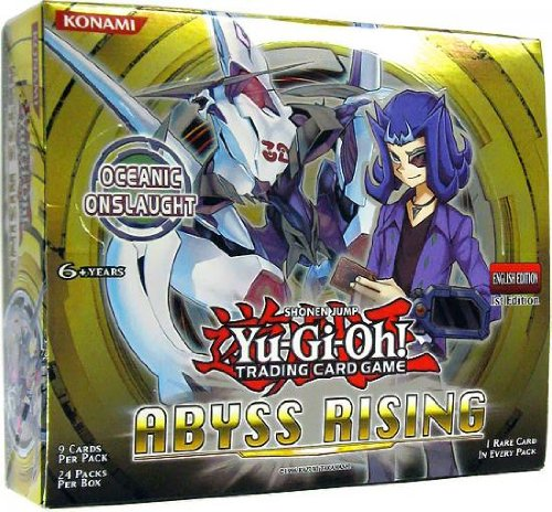 Yu-Gi-Oh! TCG Abyss Rising 1st Edition English Booster Box (24 Packs) by Yu-Gi-Oh!
