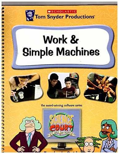 Work and Simple Machines Teacher's Guide- Cd Included (2007 Copy) (Machines Guide Simple Teachers)