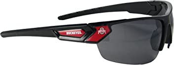 Louisville Cardinals Black Red Mens Womens Licensed Sunglasses UL S7JT