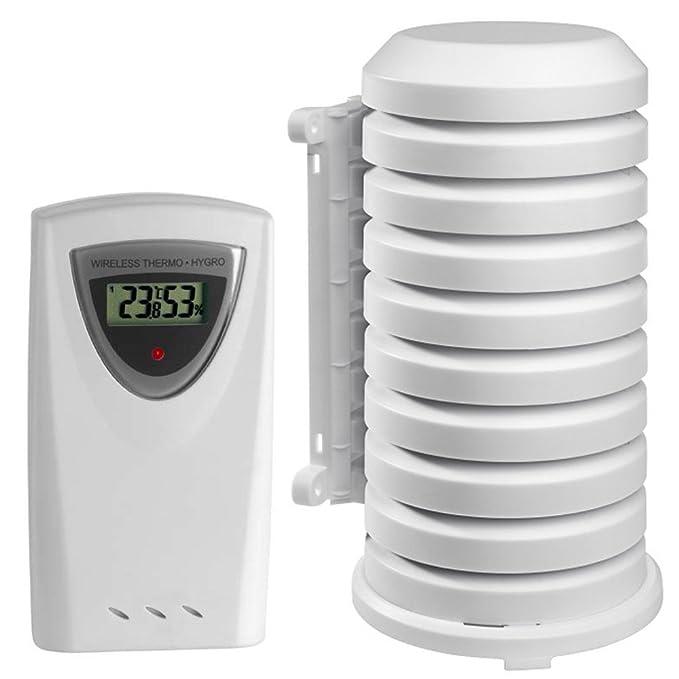 1 opinioni per Radio trasmettitore TFA 30.3150 con custodia impermeabile temperatura umidità