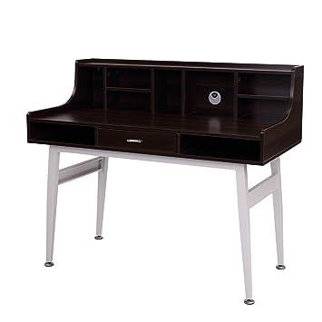modern secretary desk toronto danish mid century ikea brown white